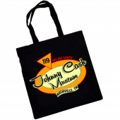 Johnny Cash Museum Black Tote Bag