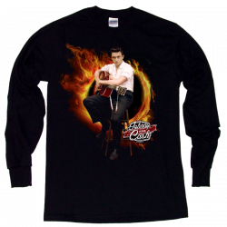 Johnny Cash Museum Long Sleeve Tee- Ring of Fire