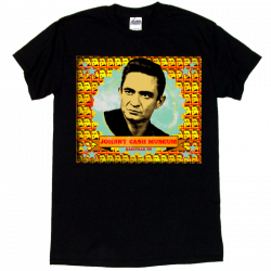 Johnny Cash Museum Black Photo Tee