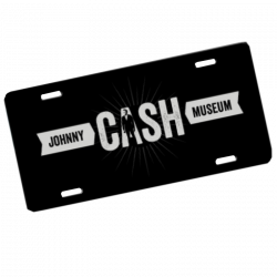 Johnny Cash Museum CASH License Plate